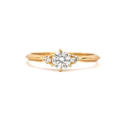 Certified 0.30ct Up Diamond Ring Heart & Arrow VS Class Certificate