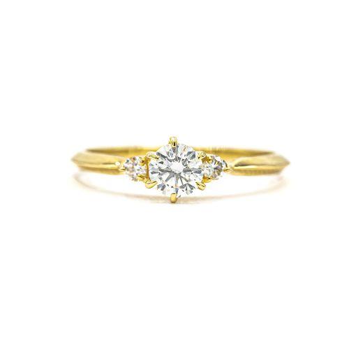 Simple Elegant 0.30ct Diamond Ring Heart & Arrow VS Class Certificate