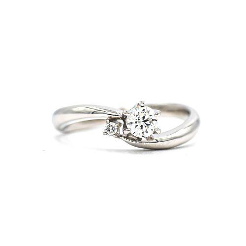 Certified 0.25ct Up Diamond Ring Heart & Arrow VS Class Certificate